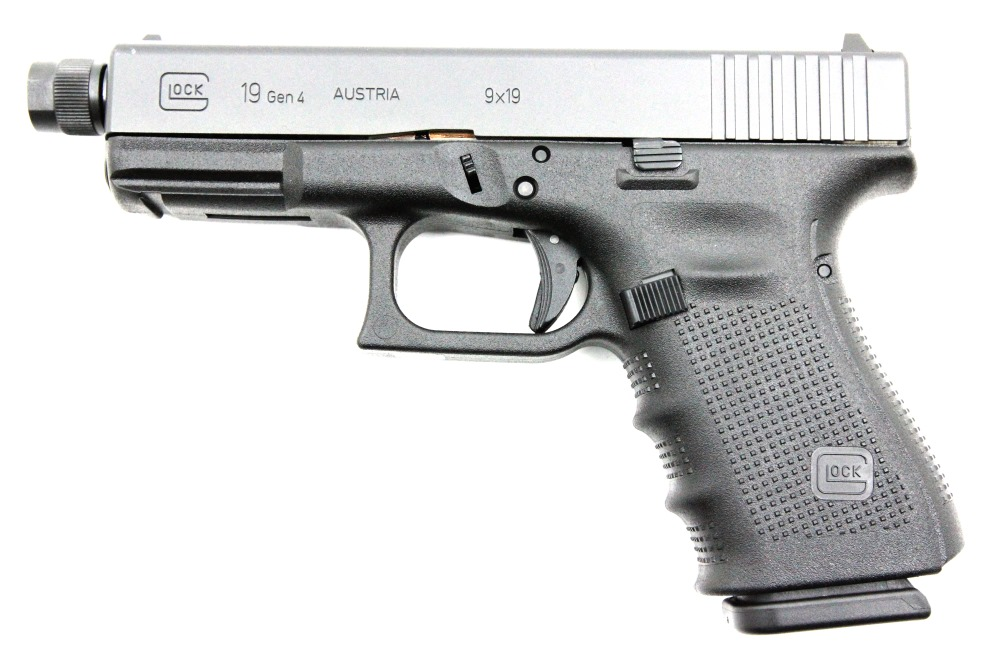 Glock 19 Gen4 Tactical, 9 x 19 mm - Image 1