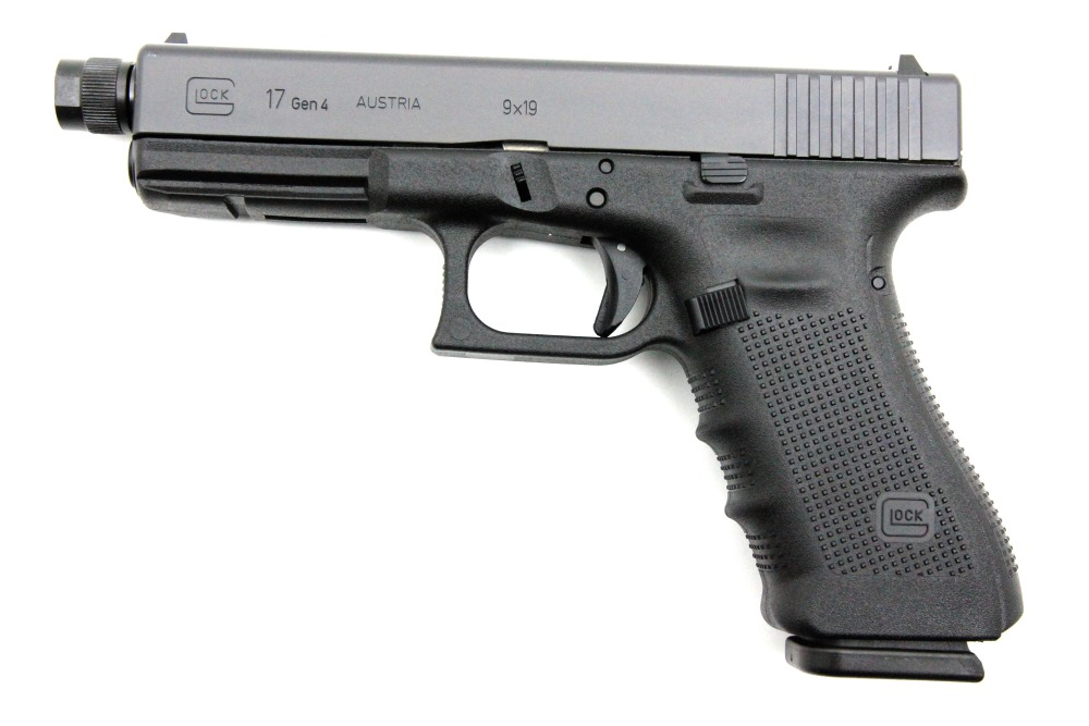 Glock 17 Gen4 Tactical, 9 x 19 mm - Image 1