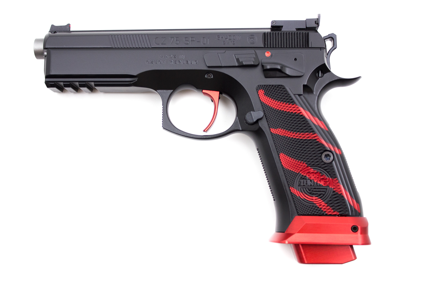 CZ 75 SP01 BOA Red, 9 x 19 mm - Image 1
