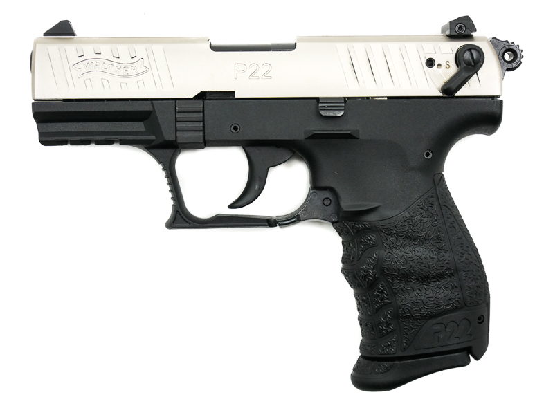 Walther P22Q Nickel, .22 LR - Image 1