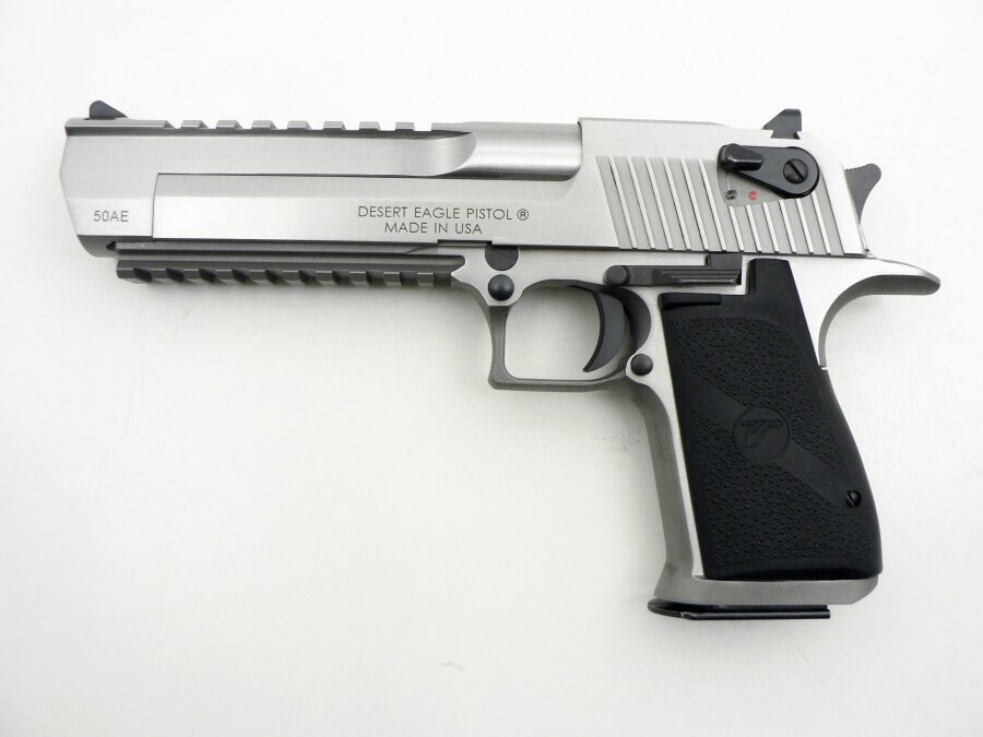 Desert Eagle XIX Stainless Steel Brushed, .50 Action Express - Image 1
