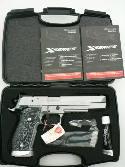 SIG Sauer X-Six Supermatch Stainless, New Model, 9 x 19 mm - Image 1