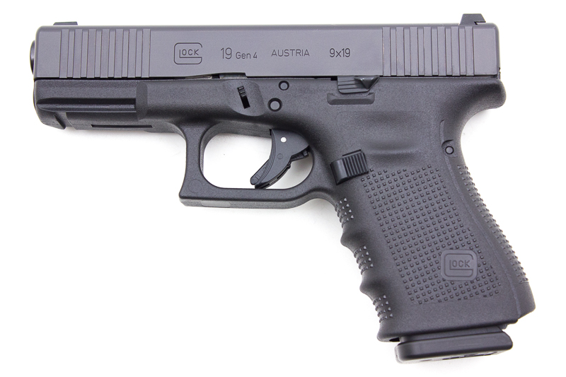Glock 19 Gen4 FS Front Serations, 9 x 19 mm - Image 1