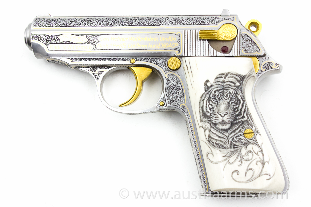 Walther PPK Royal Tiger, 9 mm short / .380 ACP - Image 1
