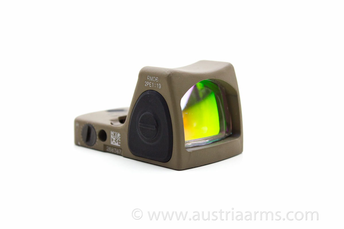 Trijicon RM 06 Rotpunktvisier in Dark Earth Brown - Image 1