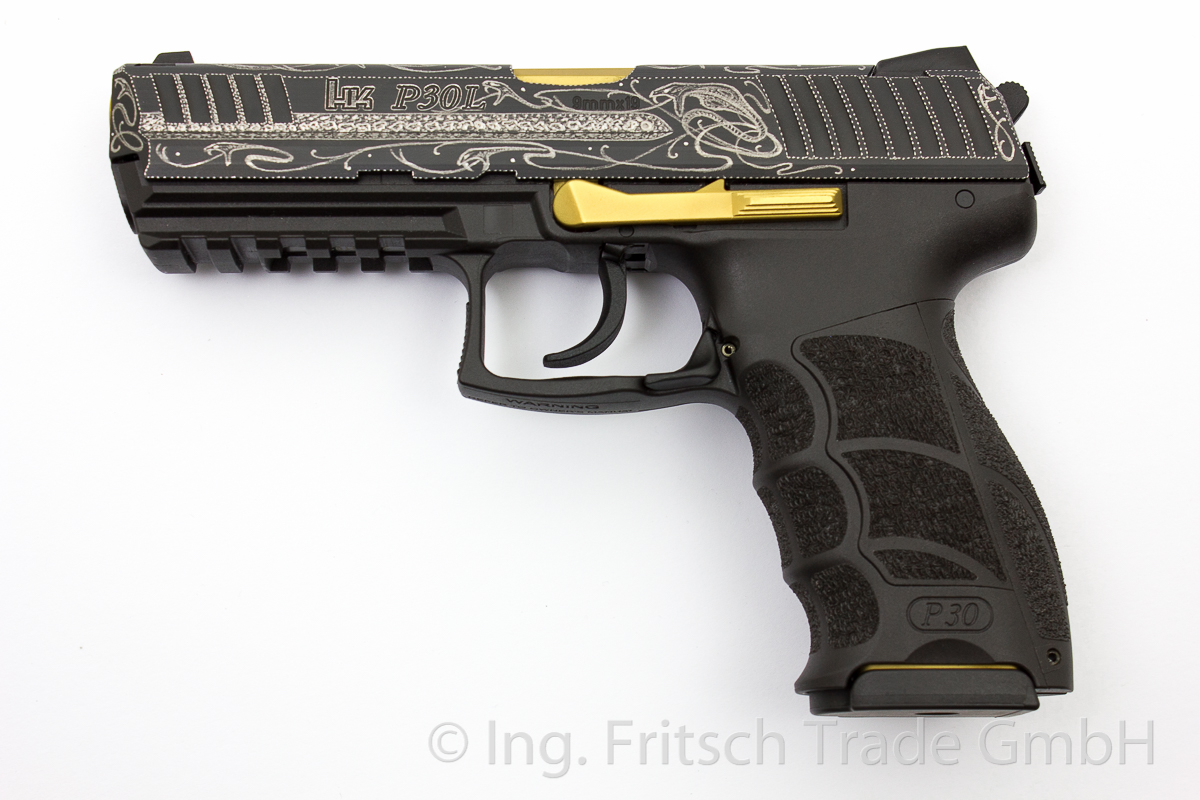 Heckler & Koch P30 L (long)  Luxury, 9 x 19 mm - Image 1