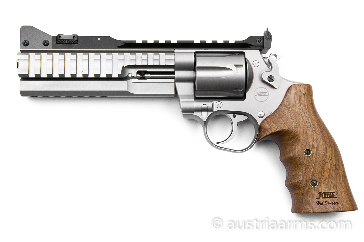 Korth Supermatch SILVER, .357 Magnum + 9 x 19 mm - Image 1