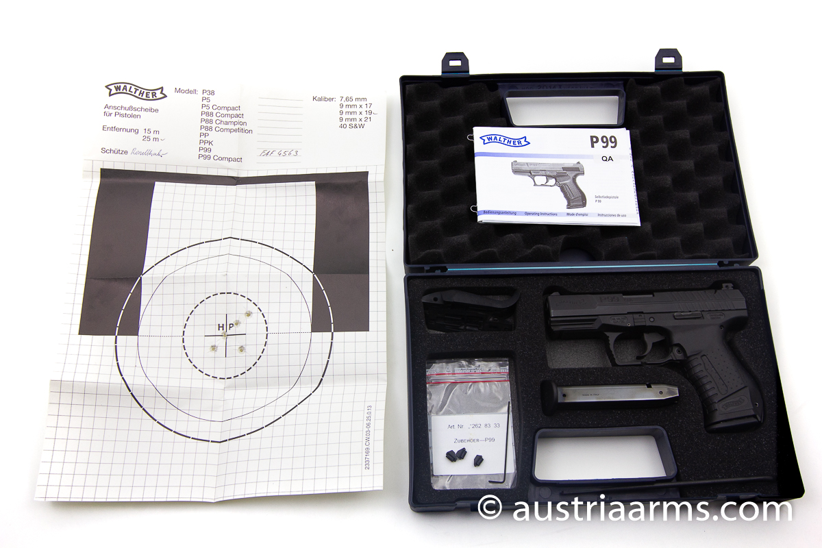 Walther P99 QA, 9 x 19 mm - Image 1