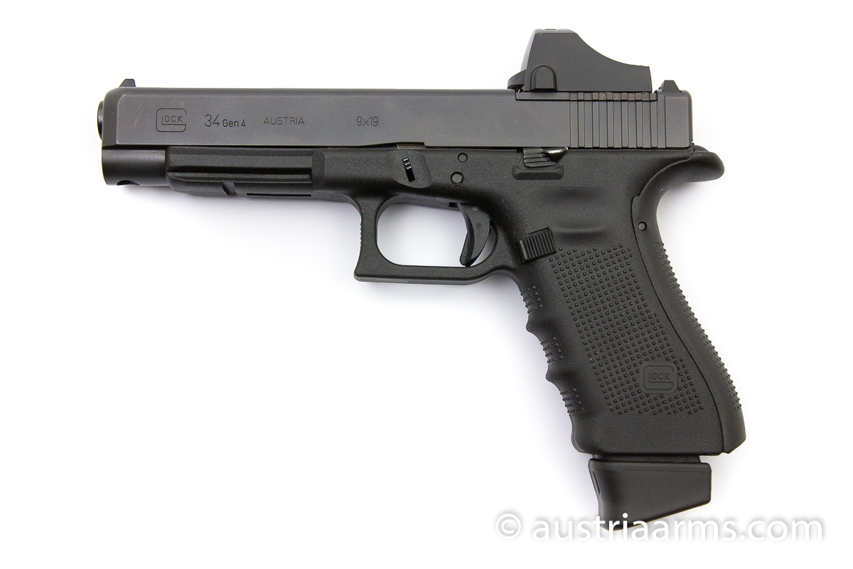 Glock 34 MOS mit Docter Sight, 9 x 19 mm - Image 1