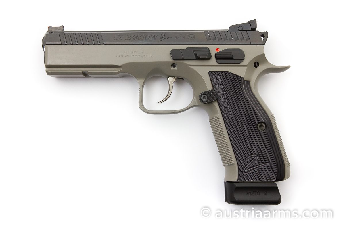 CZ Shadow II Urban Grey, 9 x 19 mm - Image 1