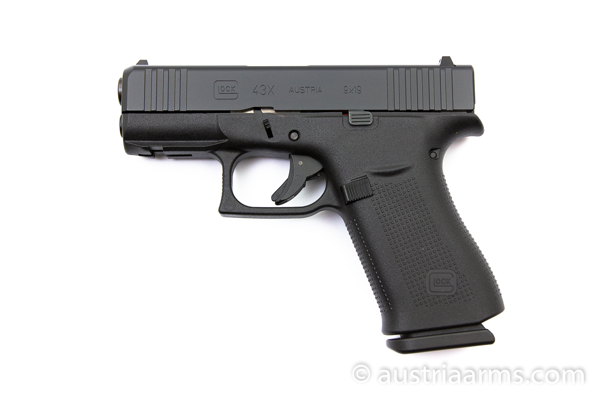 Glock 43X Black, 9 x 19 mm - Image 1