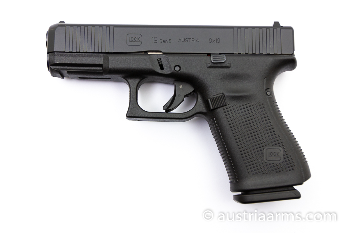 Glock 19 Gen 5 Front Serrations, 9 x 19 mm - Image 1