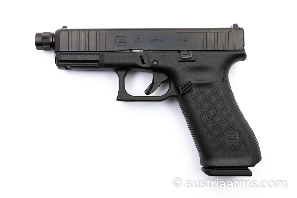 Glock 45 Gen 5 FS, OR/Optics Ready, Tactical Gewindelauf, 9 x 19 mm - Image 1