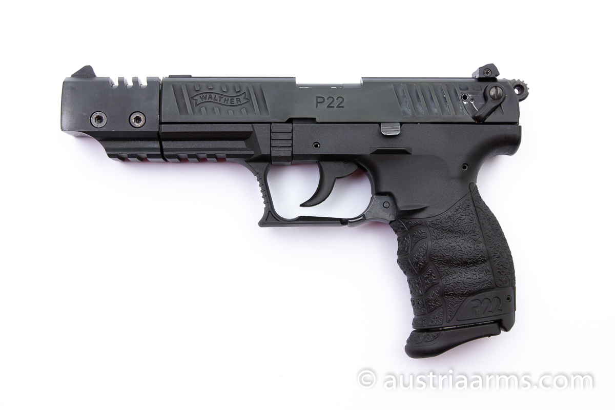 Walther P22 Match, .22 LR - Image 1