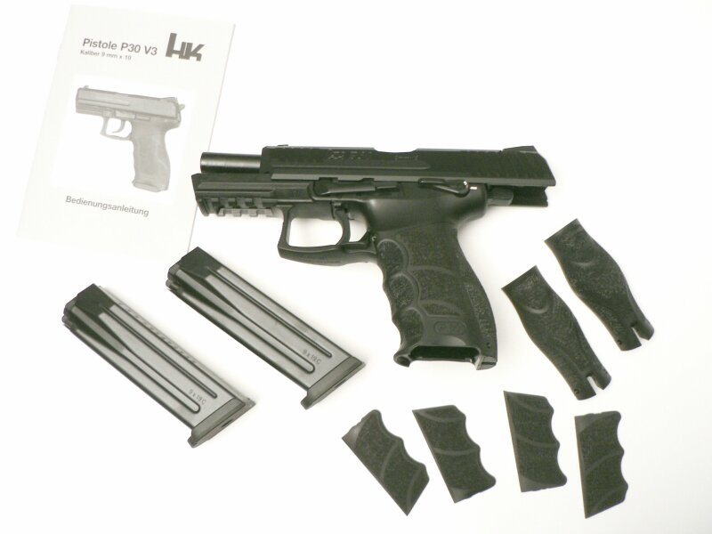 Heckler & Koch  P30S  (manual safety),   9 x 19 mm - Image 2