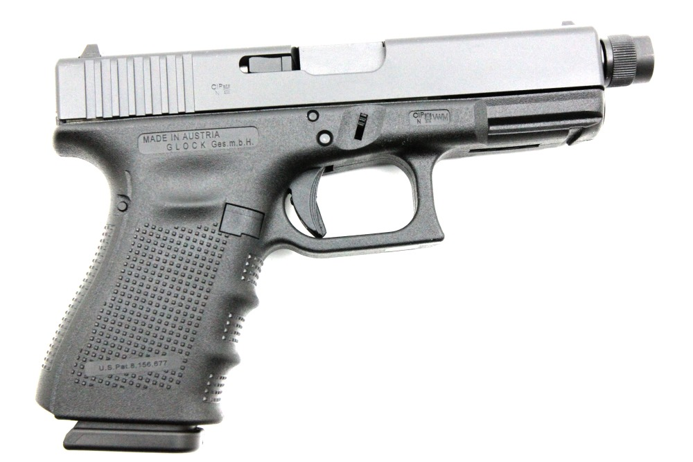 Glock 19 Gen4 Tactical, 9 x 19 mm - Image 2