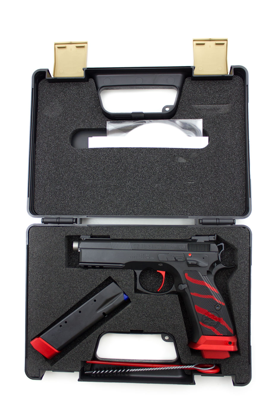 CZ 75 SP01 BOA Red, 9 x 19 mm - Image 2