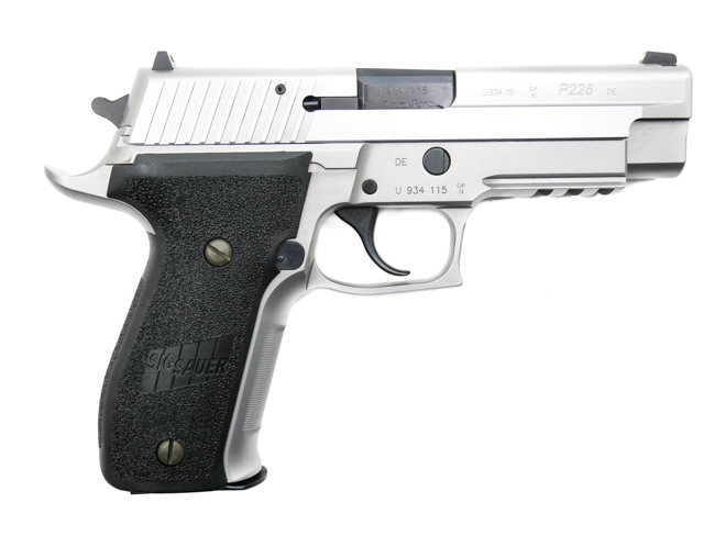 SIG Sauer P226 Stainless SL SO Beavertail, 9 x 19 mm - Image 2