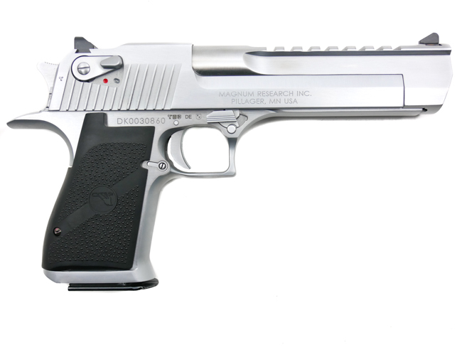 Desert Eagle, .50 Action Express, Brushed Chrome - Image 2