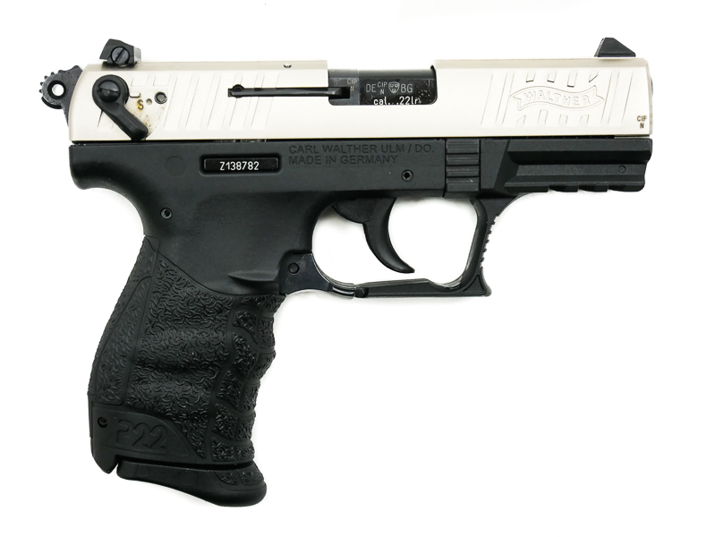 Walther P22Q Nickel, .22 LR - Image 2