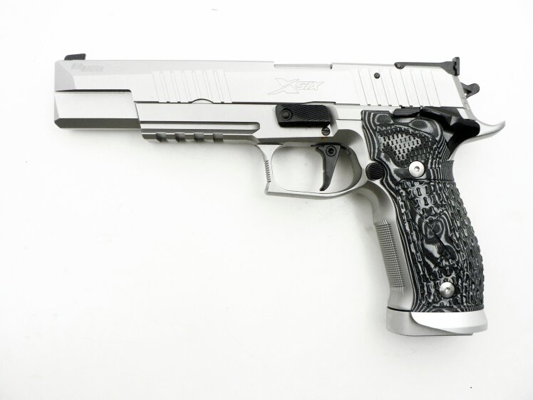 SIG Sauer X-Six Supermatch Stainless, New Model, 9 x 19 mm - Image 2