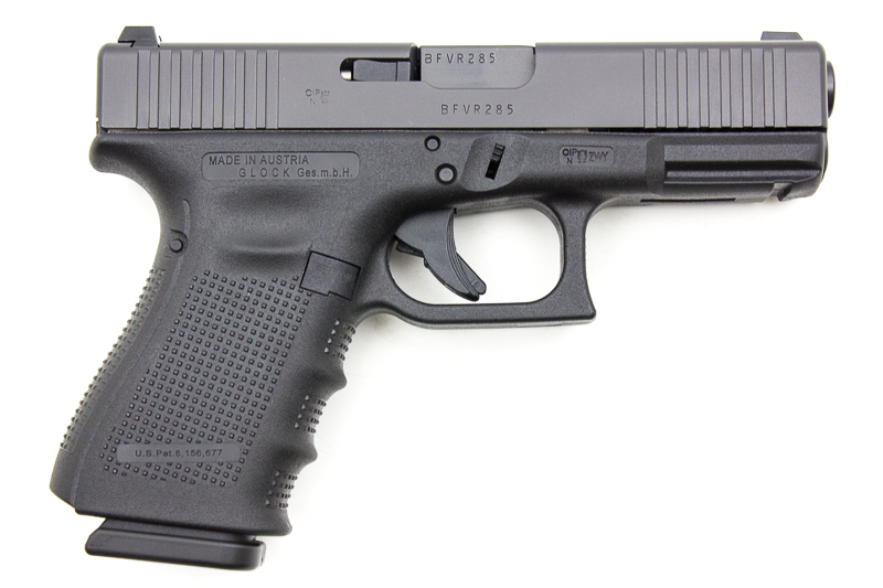 Glock 19 Gen4 FS Front Serations, 9 x 19 mm - Image 2