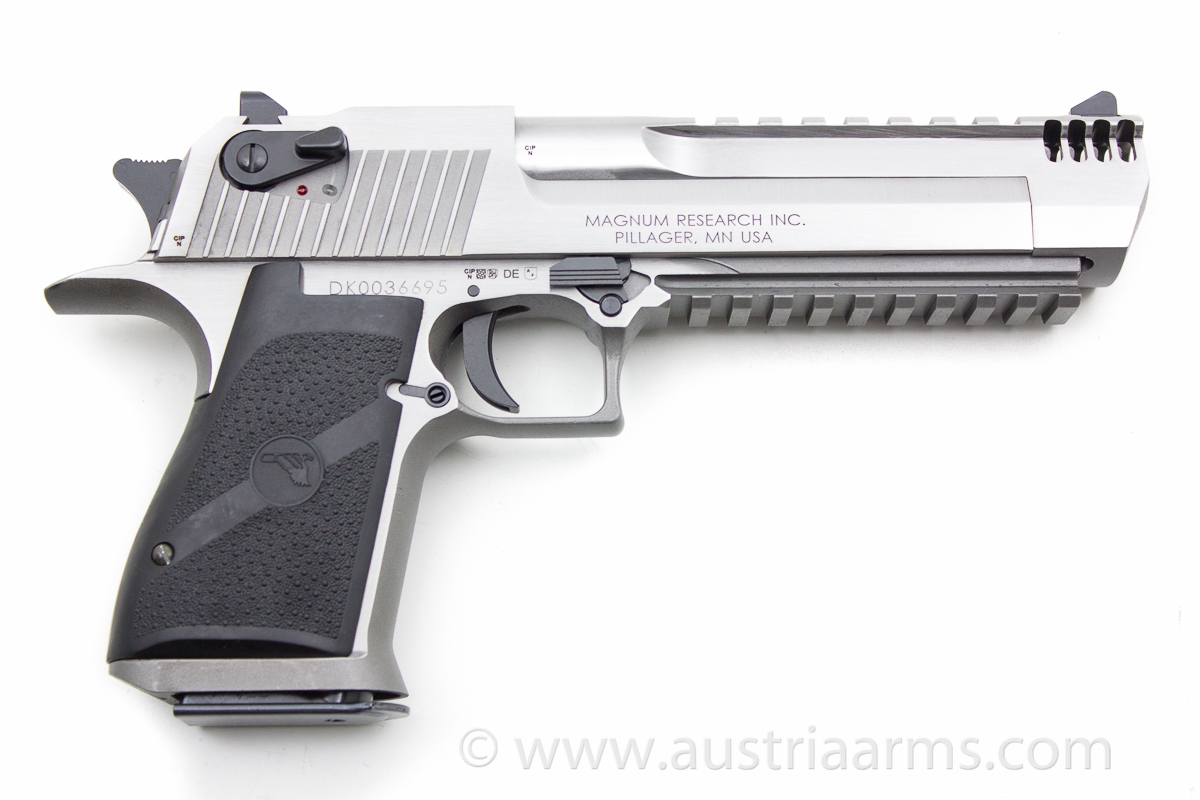 Desert Eagle XIX Stainless Steel Brushed, compensated .50 AE - Image 2