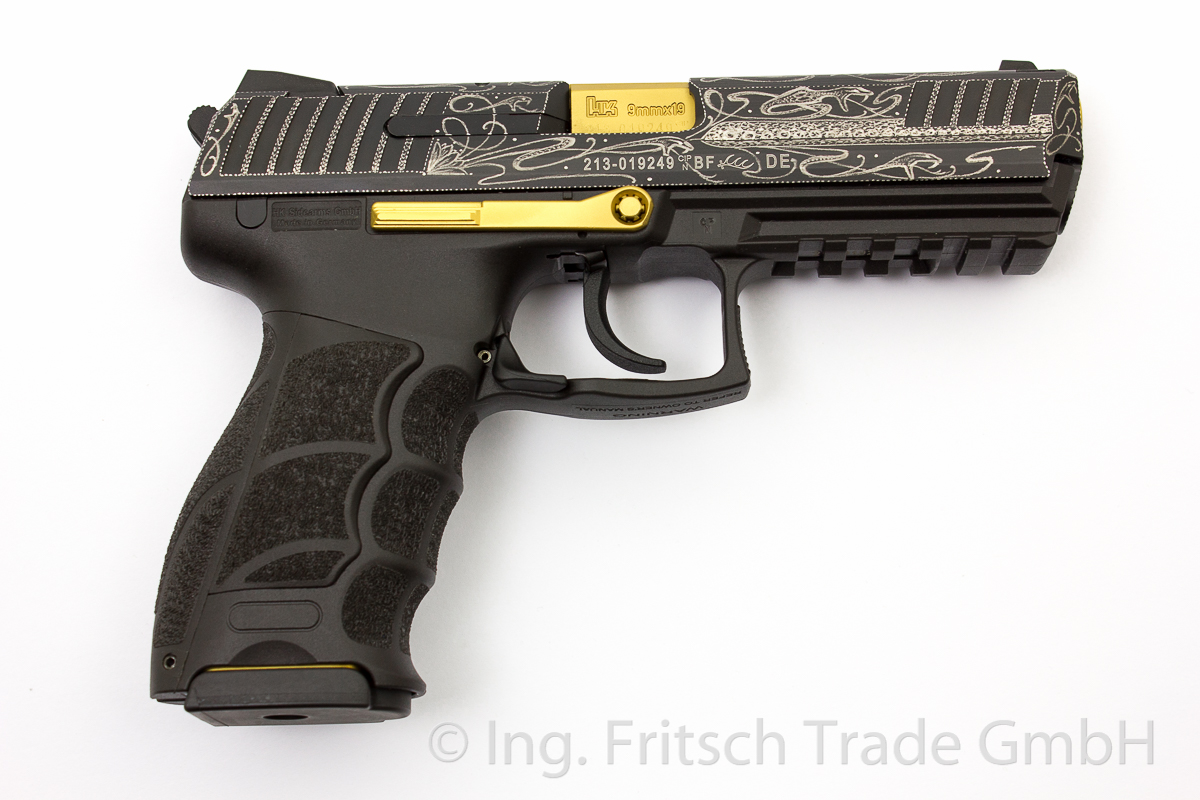 Heckler & Koch P30 L (long)  Luxury, 9 x 19 mm - Image 2