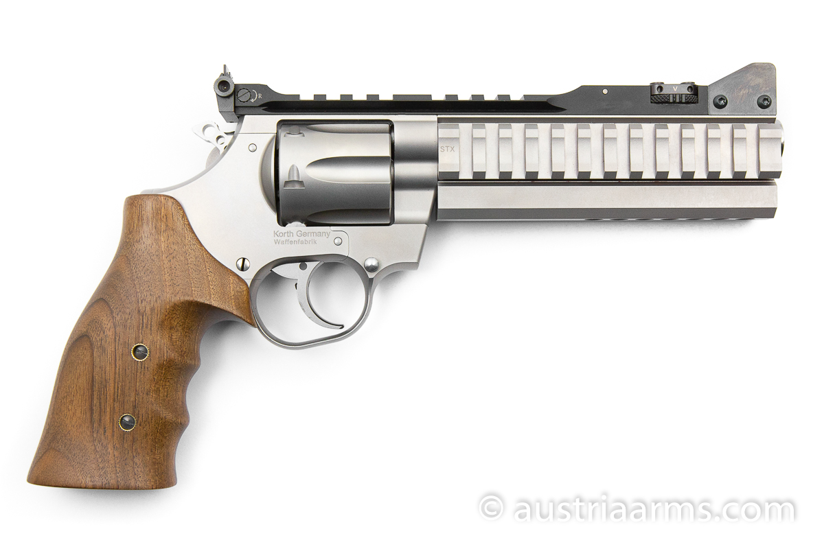 Korth Supermatch SILVER, .357 Magnum + 9 x 19 mm - Image 2
