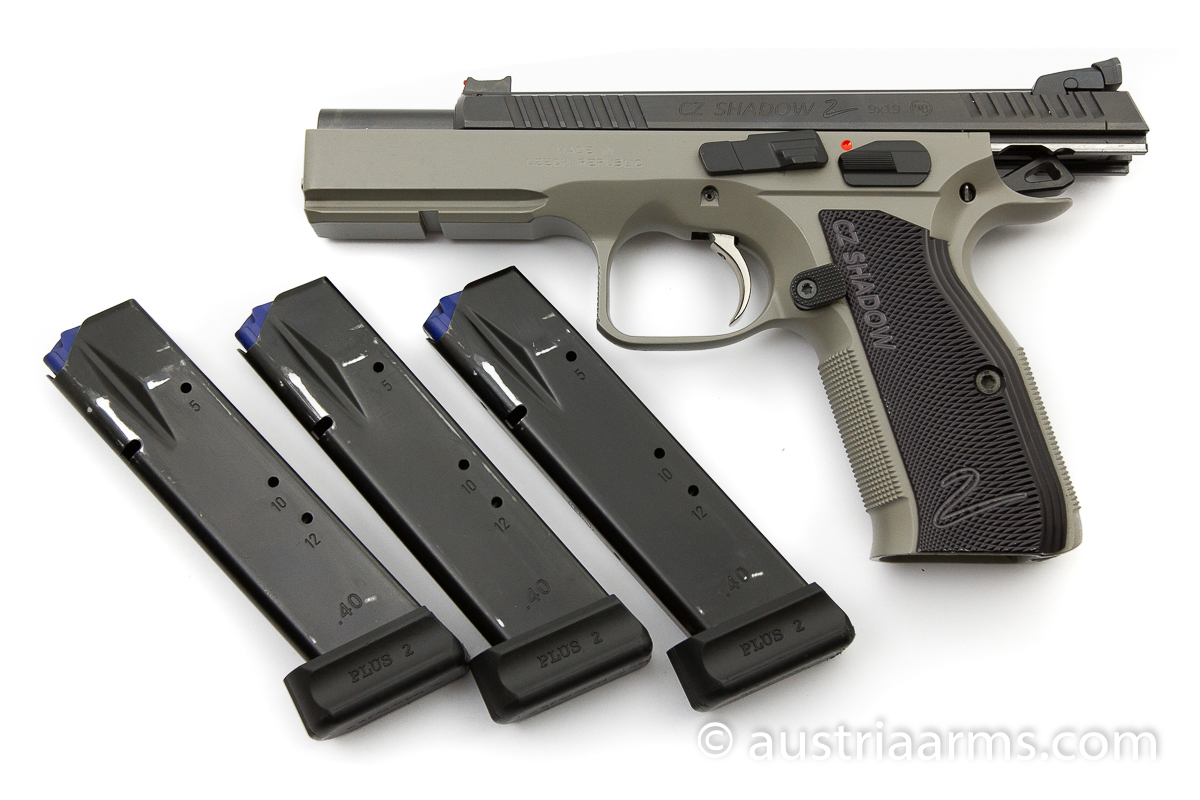 CZ Shadow II Urban Grey, 9 x 19 mm - Image 2