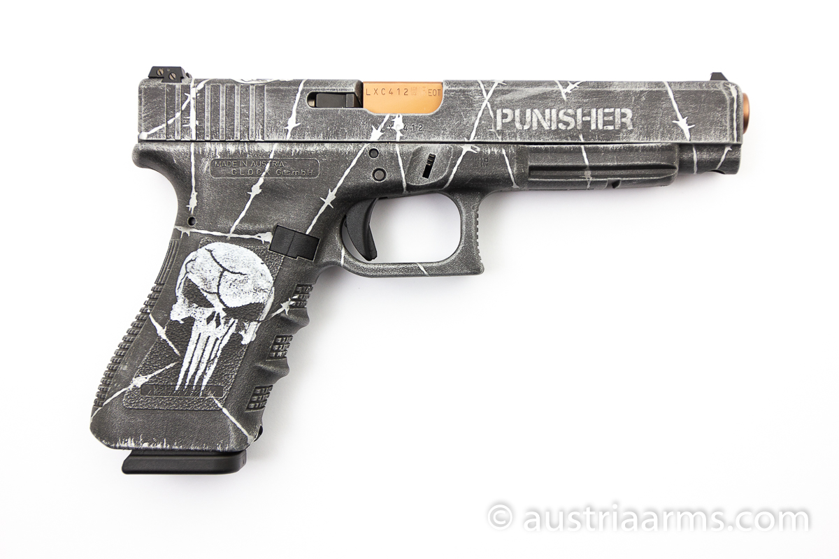 Glock 34 Custom Punisher, 9 x 19 mm - Image 2