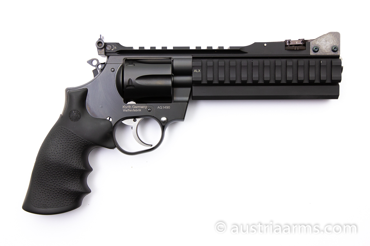 Korth Supersport ALX, .357 Magnum mit Wechseltrommel 9 mm - Image 2