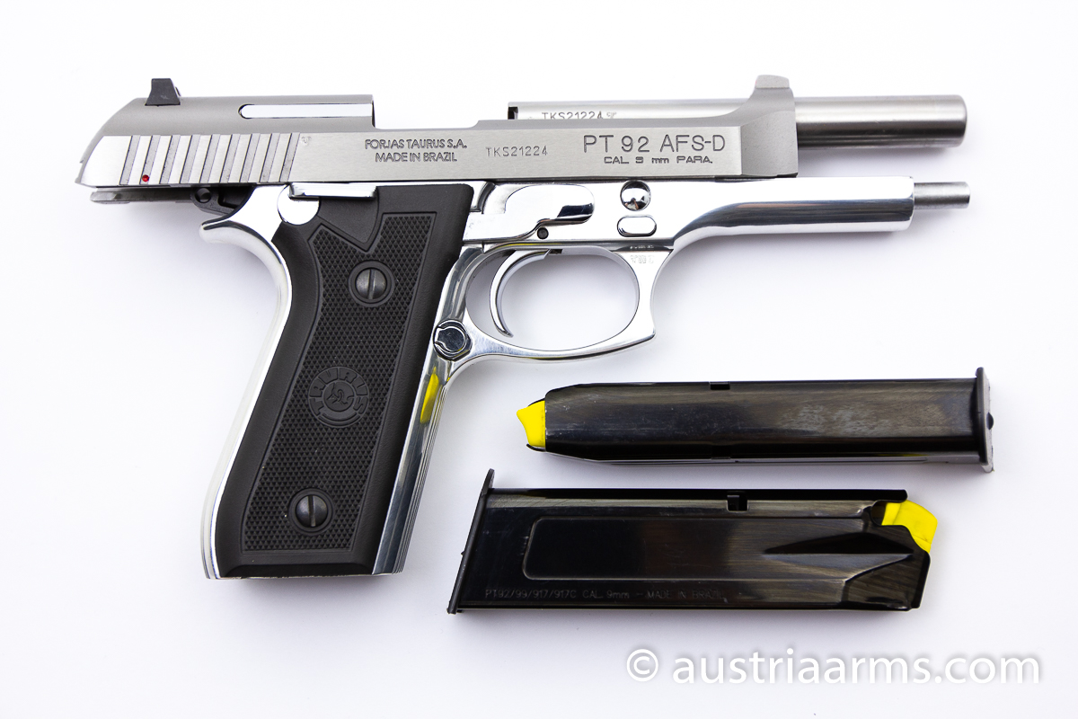 Taurus PT99 AFS Stainless Deluxe, 9 x 19 mm - Image 2