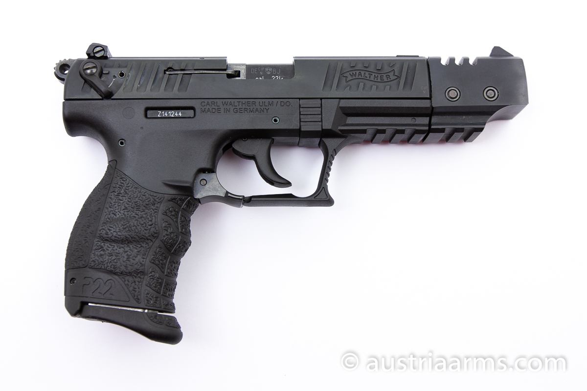 Walther P22 Match, .22 LR - Image 2