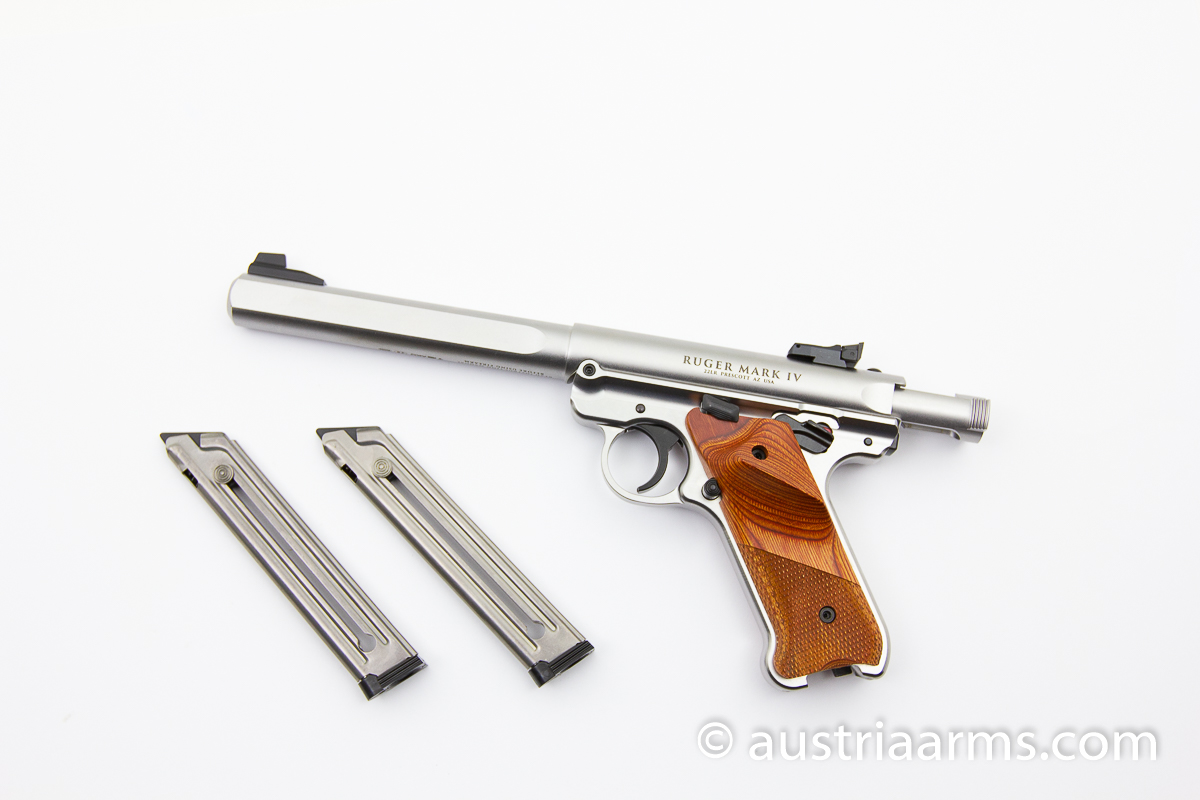 Ruger Mark IV Competition Stainless - Image 2