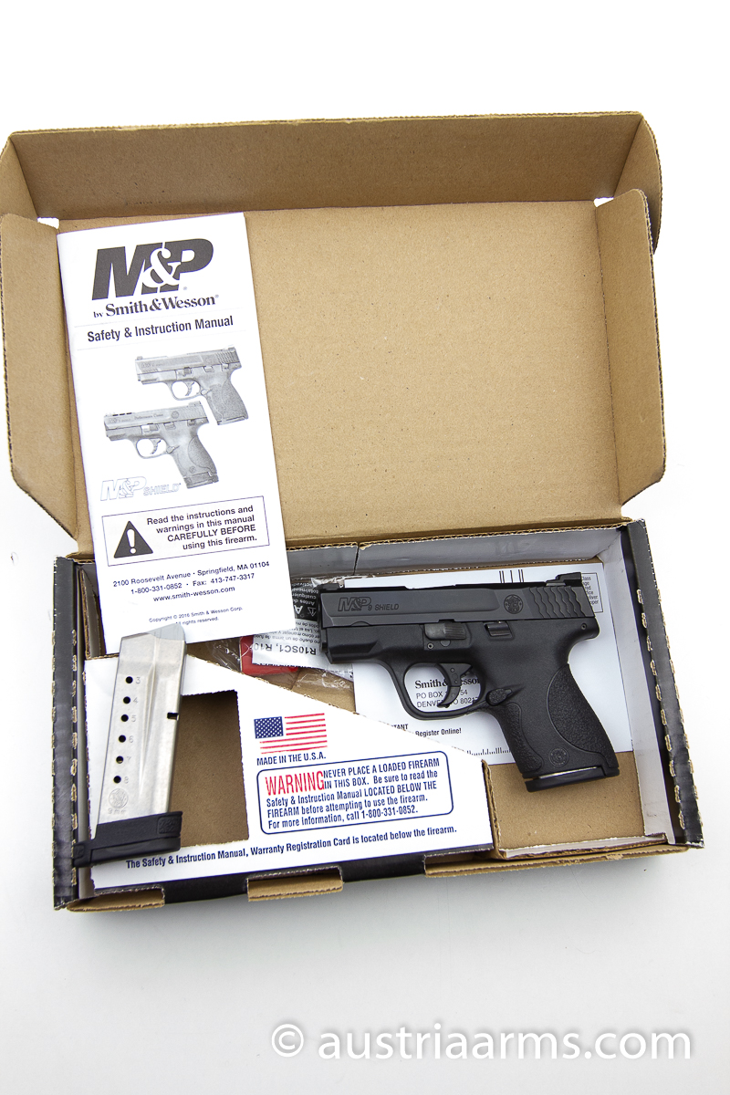 Smith & Wesson M&P9 Shield mit Night Sights, 9 x 19 mm - Image 2