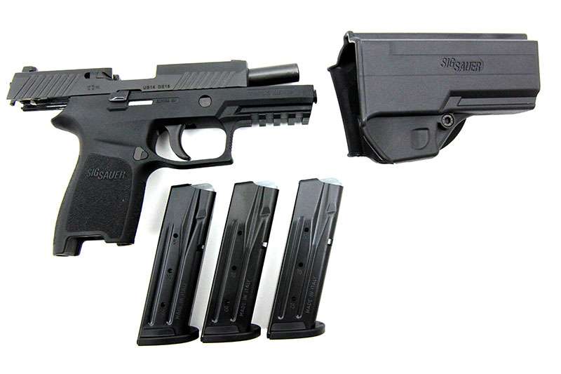 SIG Sauer P320 Compact, 9 x 19 mm - Image 3
