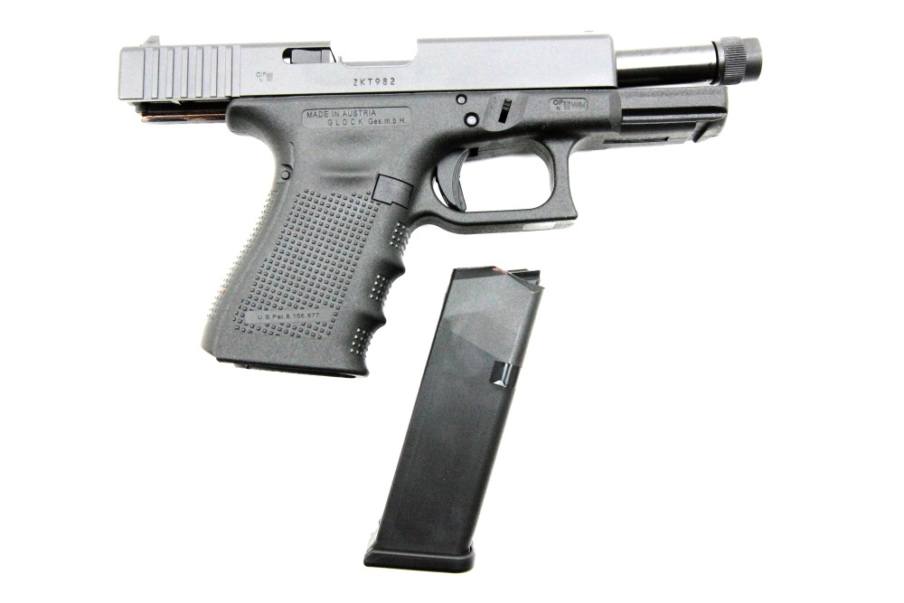 Glock 19 Gen4 Tactical, 9 x 19 mm - Image 3