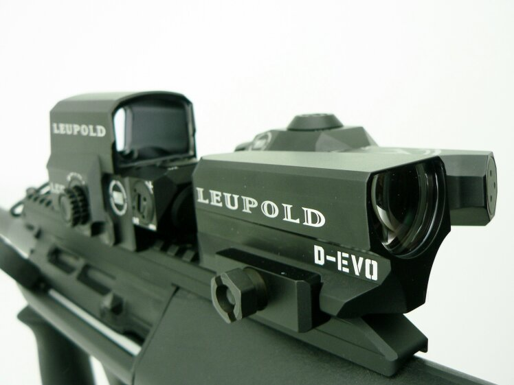 Leupold  D-EVO 6x20 mm (Dual enhanced view optic) / LCO Red Dot  - Image 3
