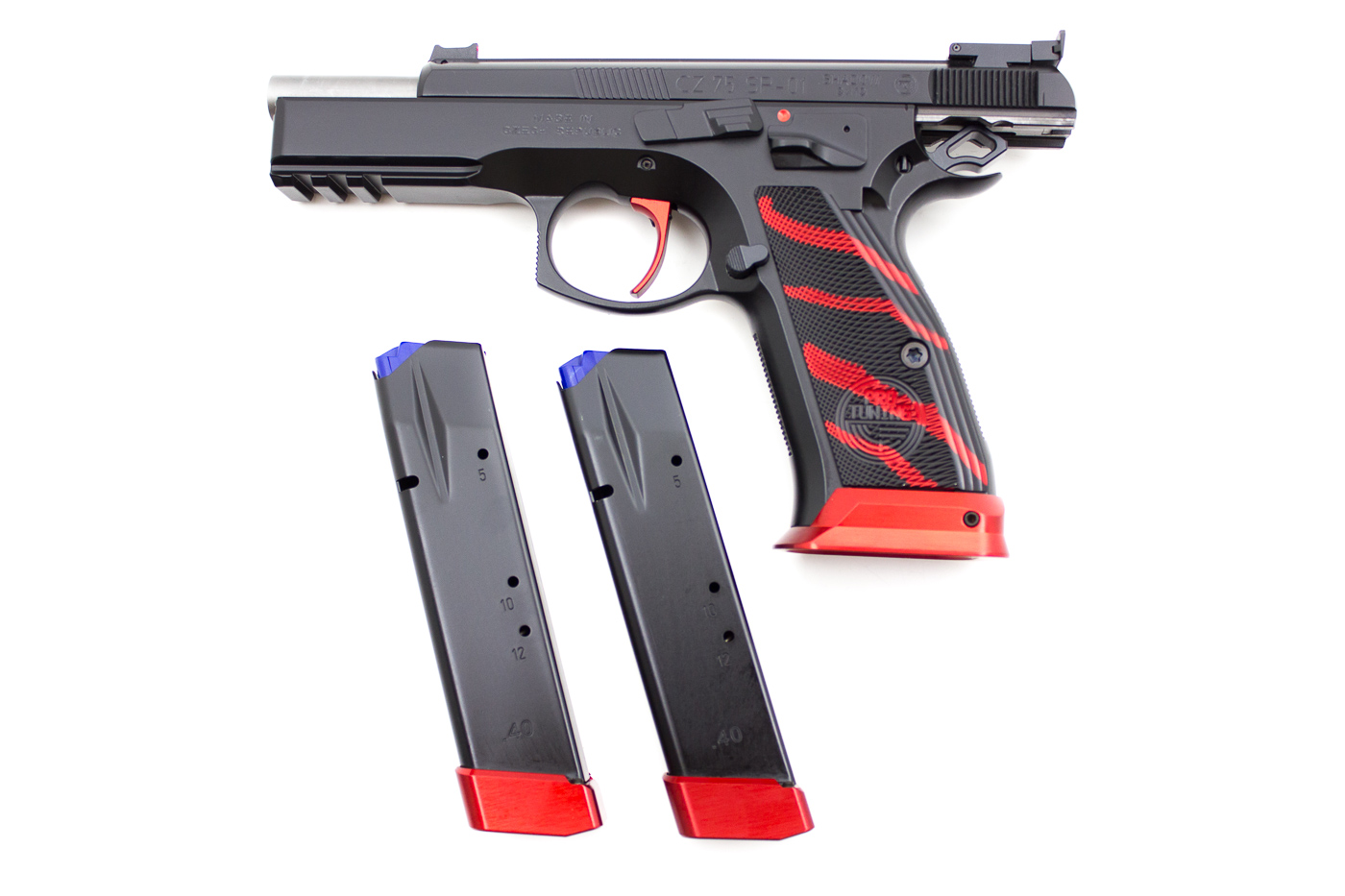 CZ 75 SP01 BOA Red, 9 x 19 mm - Image 3