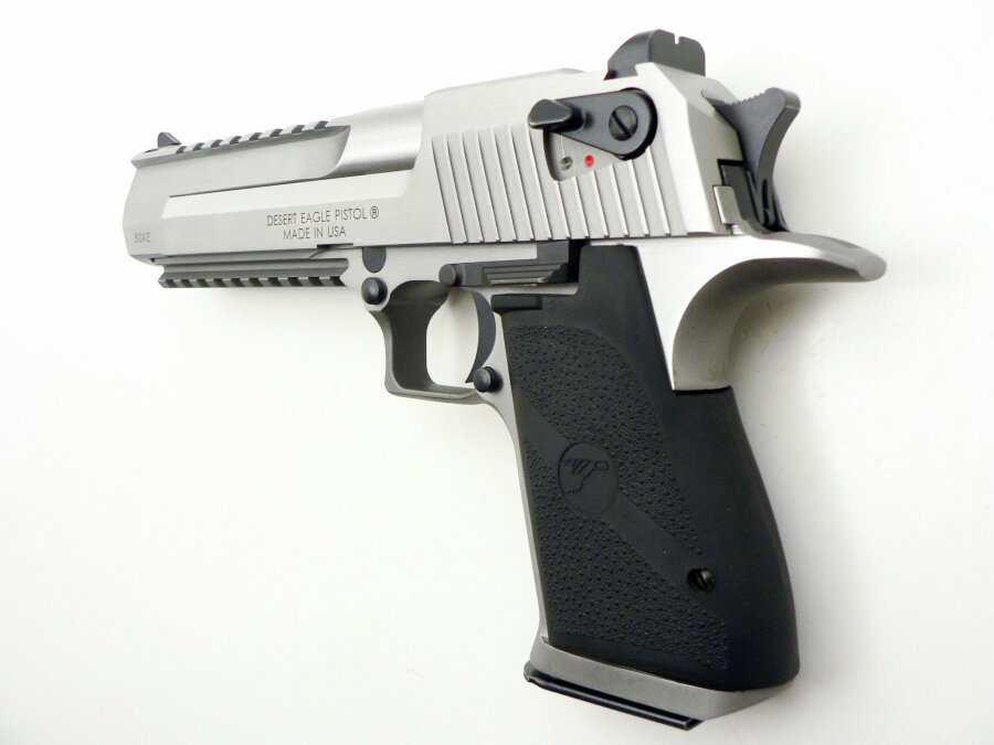 Desert Eagle XIX Stainless Steel Brushed, .50 Action Express - Image 3