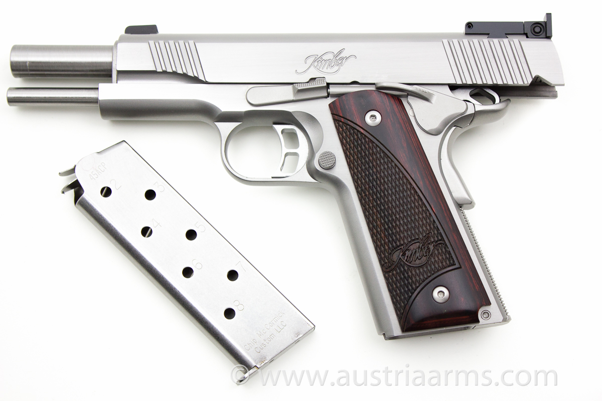 Kimber Stainless Gold Match II, .45 ACP - Image 3