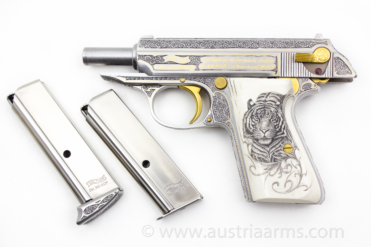 Walther PPK Royal Tiger, 9 mm short / .380 ACP - Image 3
