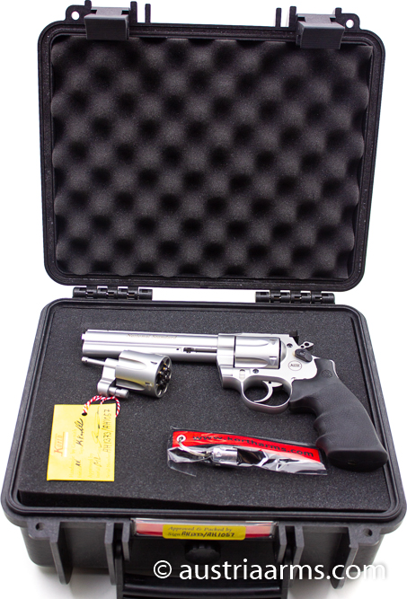 Korth National Standard 6 Inch, Stainless Finish,  .357 Magnum   - Image 3
