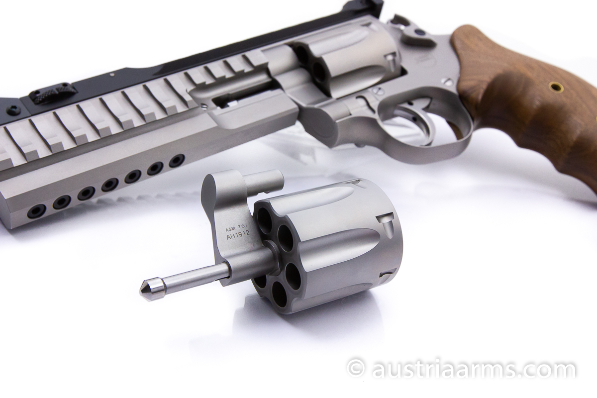 Korth Supermatch SILVER, .357 Magnum + 9 x 19 mm - Image 3