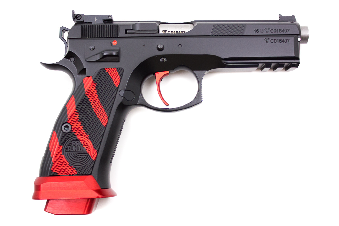 CZ 75 SP01 BOA Red, 9 x 19 mm - Image 4