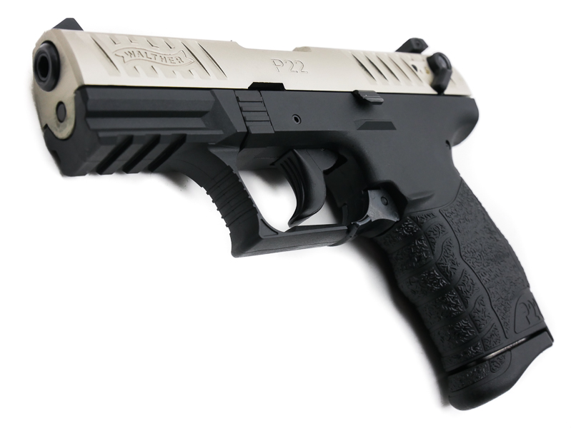 Walther P22Q Nickel, .22 LR - Image 4