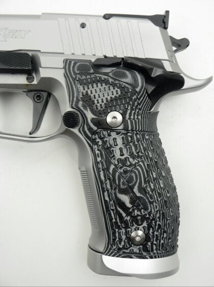 SIG Sauer X-Six Supermatch Stainless, New Model, 9 x 19 mm - Image 4