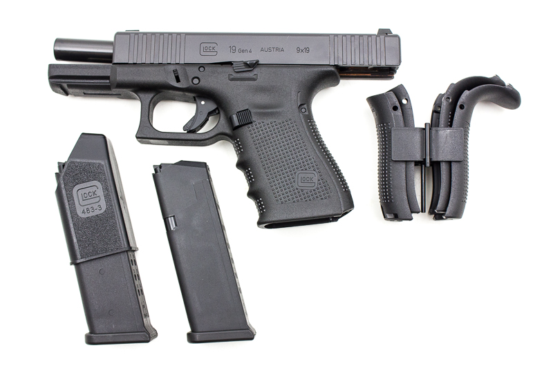 Glock 19 Gen4 FS Front Serations, 9 x 19 mm - Image 4