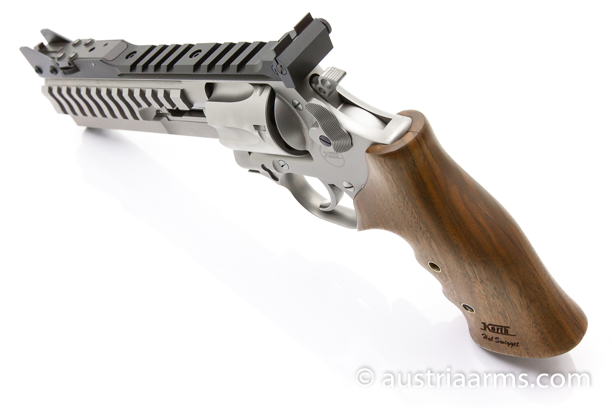 Korth Supermatch SILVER, .357 Magnum + 9 x 19 mm - Image 4